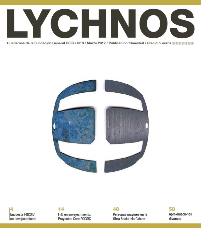 """Article on FGCSIC's """"Aging positive"""" blog (Lychnos journal)"""