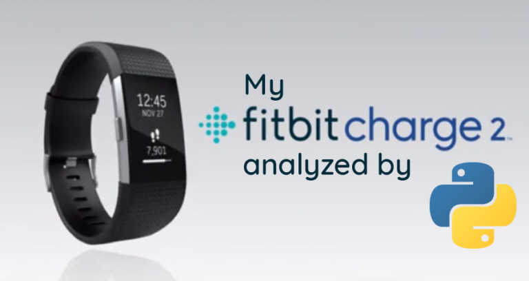 Is it possible to use Python to analyze your own health with your wearable?