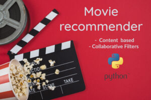 Movie recommender with Python