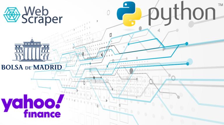 Madrid Stock Exchange Scrape Yahoo Finance Data with Python