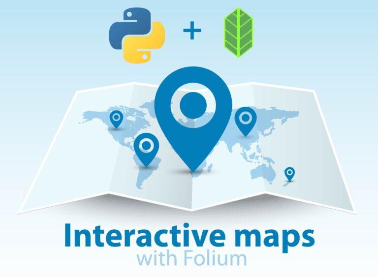 Interactive Python maps with Folium
