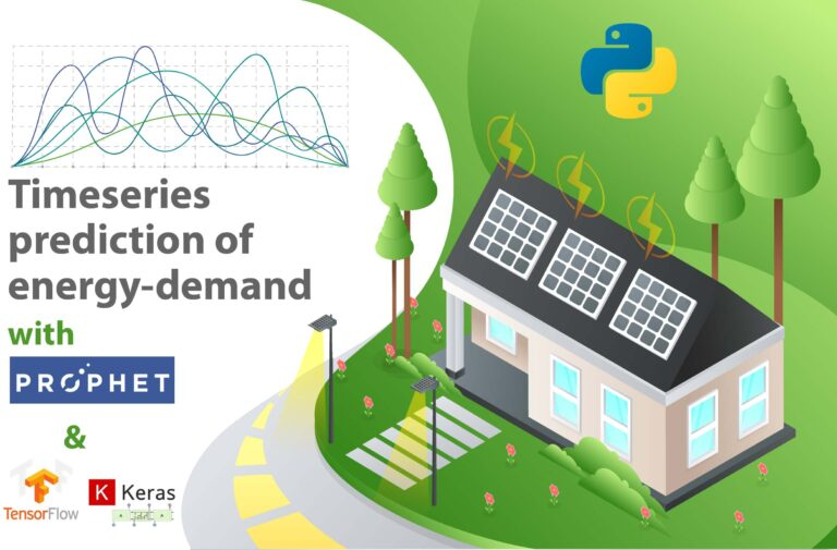 Play with models for energy-demand time series