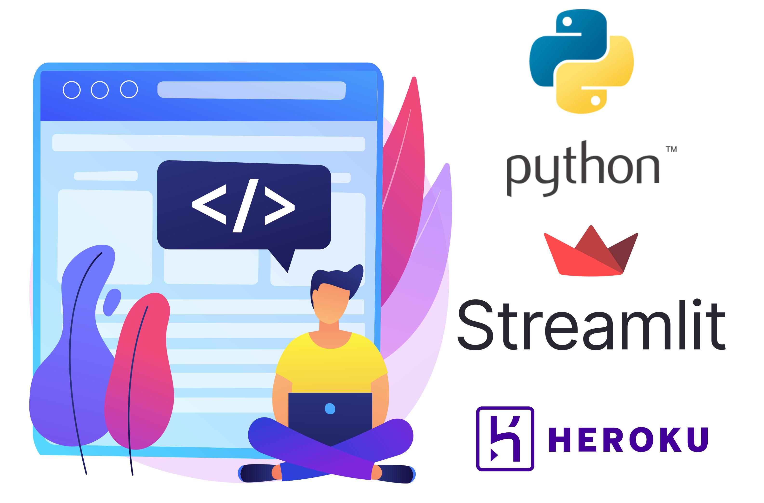webapp with Streamlit and Heroku